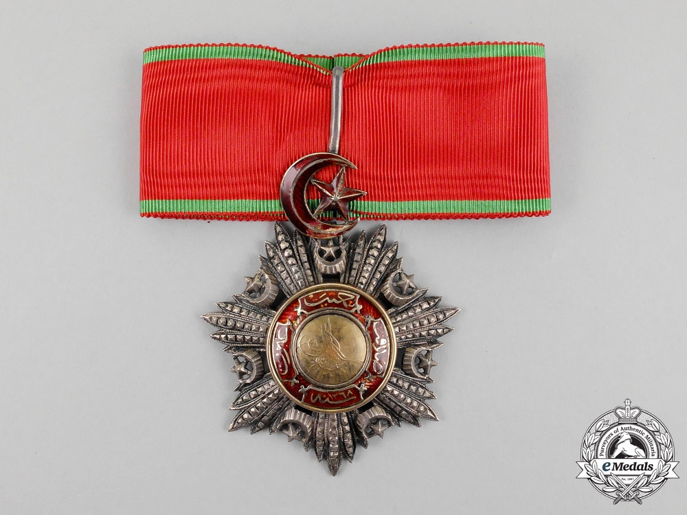 eMedals-A Turkish Ottoman Empire Order of Medjidie (Mecidiye), Commander's Neck Badge, 3rd Class