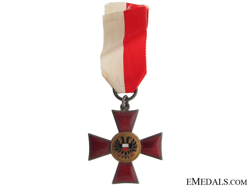 eMedals-Lübeck Hanseatic Cross