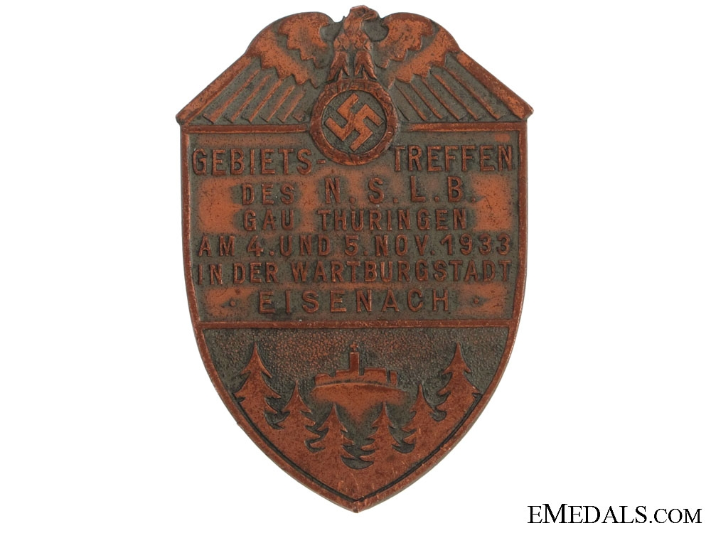 eMedals-Large N.S.L.B. Tinnie/Day Badge 1933