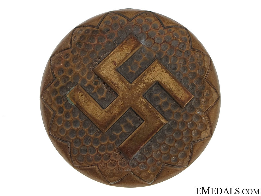 eMedals-Large Patriotic Brooch