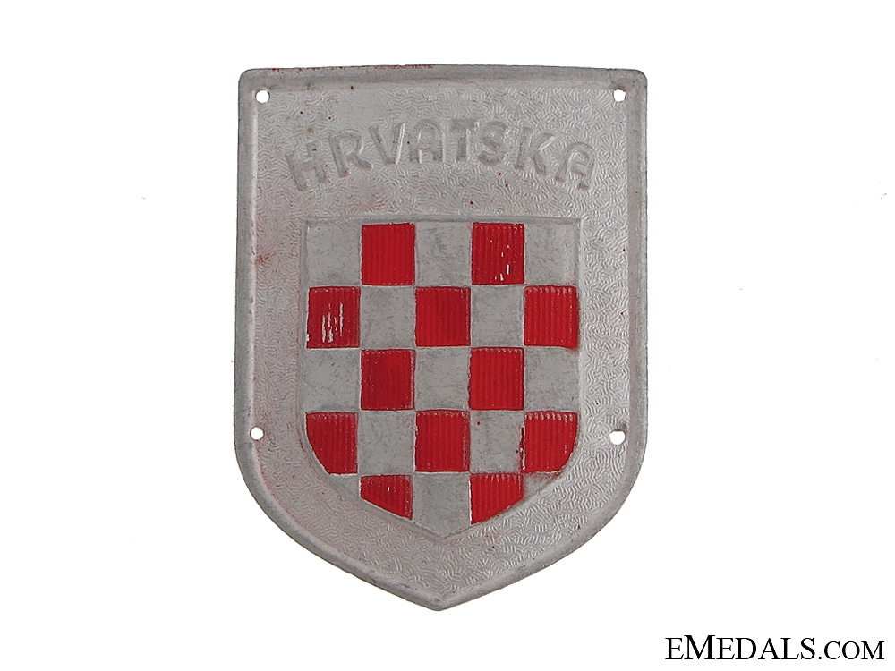 eMedals-Legion Croata Autotransportabile Sleeve Badge WWII