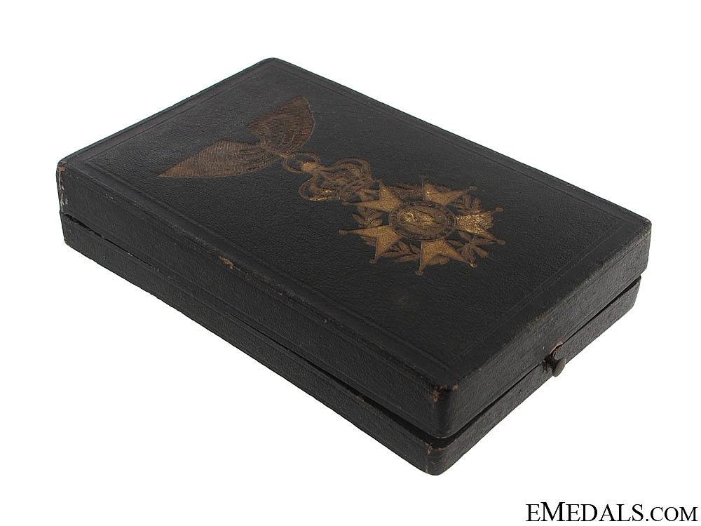 eMedals-Legion of Honour Case - c. 1850