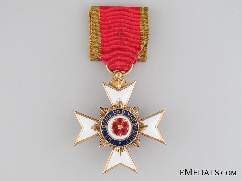 eMedals-Lippe-Detmold, Honor Cross 3d Class