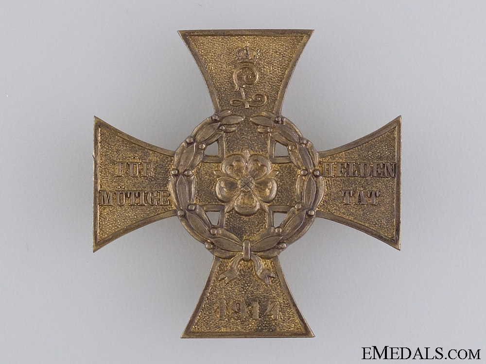 eMedals-Lippe-Detmold War Merit Cross; First Class