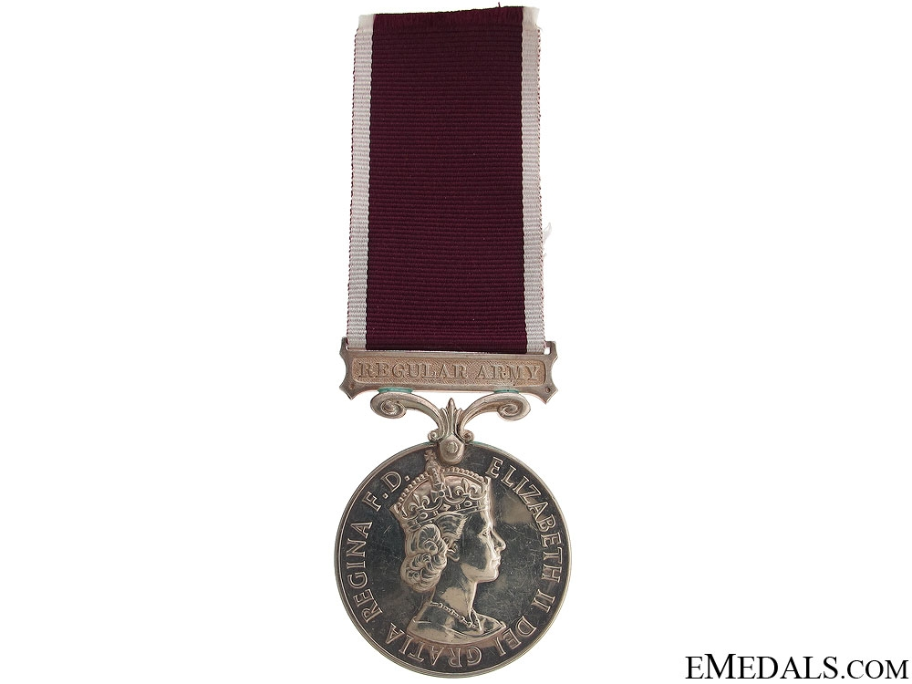 eMedals-Long Service & Good Conduct Medal - RCT