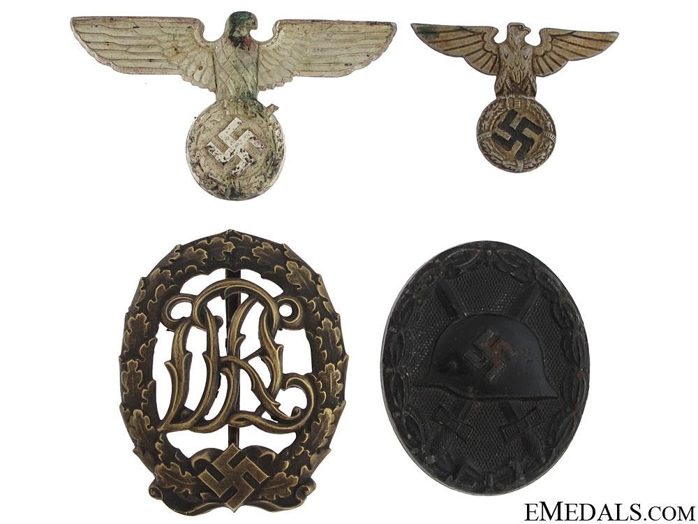 eMedals-Lot of German Insignia & Badges