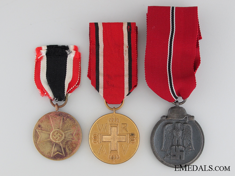 eMedals-Lot of Three Medals