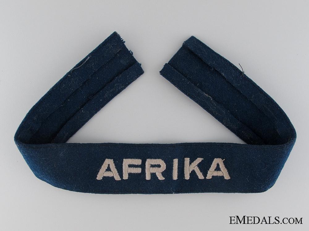 eMedals-Luftwaffe Afrika Cufftitle