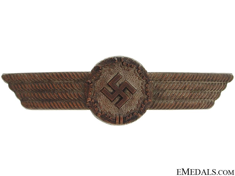 eMedals-Luftwaffe Civilian Employee Visor Insignia