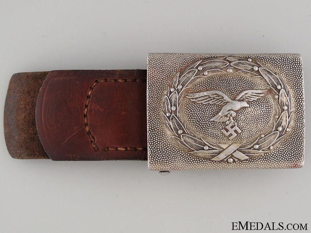 eMedals-Luftwaffe Enlisted Belt Buckle 1938