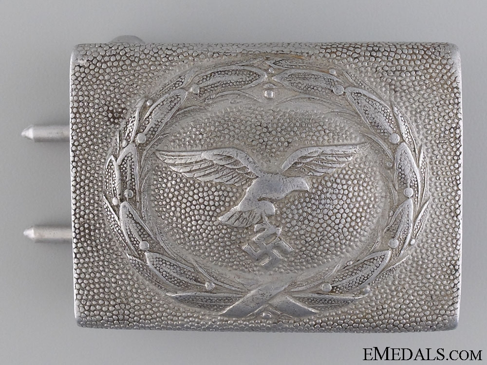 eMedals-Luftwaffe Enlisted Man's Belt Buckle; 2nd Pattern by Frank & Reif