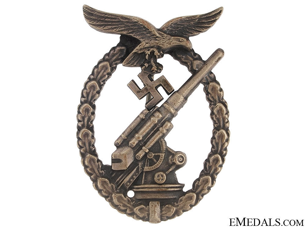 eMedals-Luftwaffe Flak Badge – Juncker