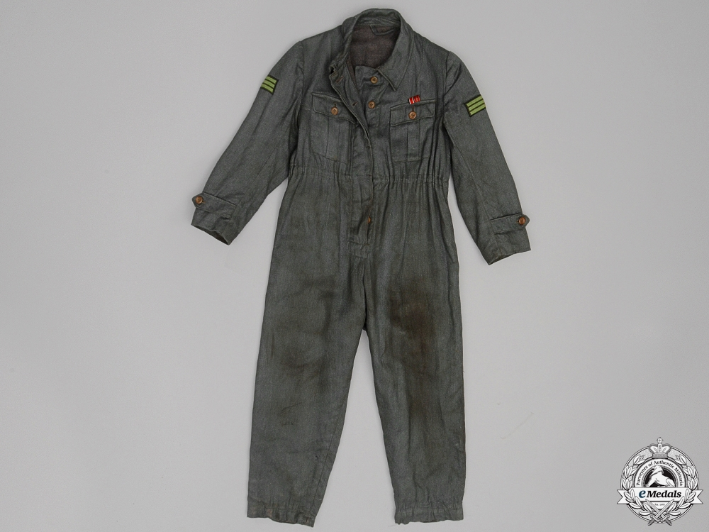eMedals-Luftwaffe Ground Crew; Mechanic's Coveralls