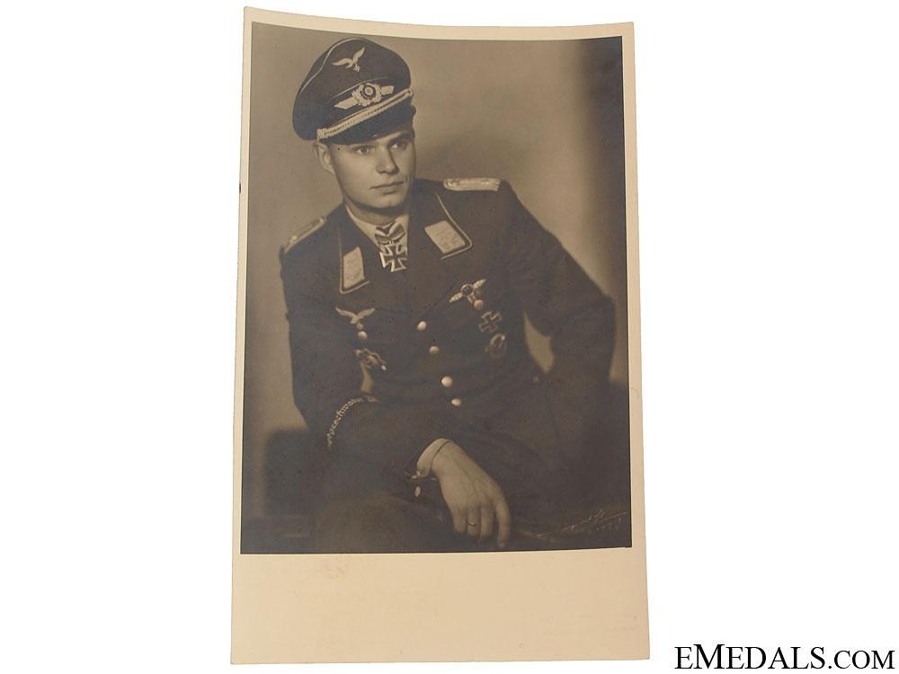 eMedals-Luftwaffe KC Winner with Dedication Photo