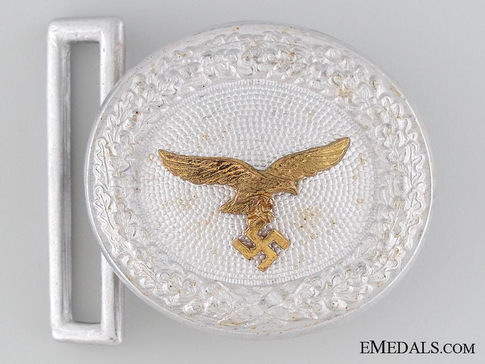 eMedals-Luftwaffe Officer's Belt Buckle by Assmann