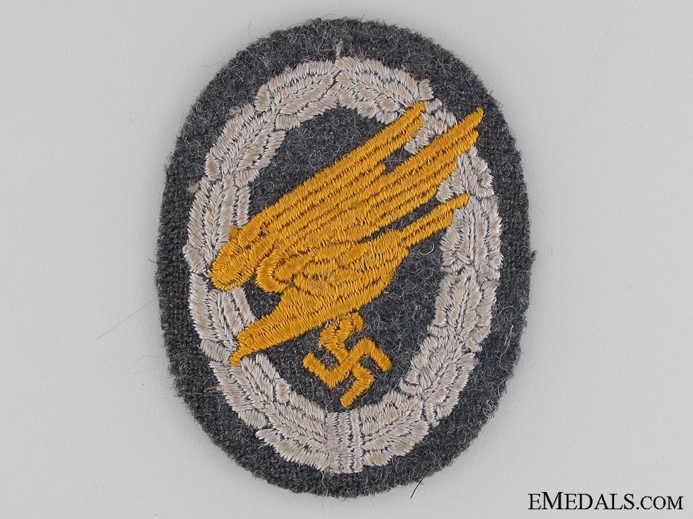 eMedals-Luftwaffe Paratrooper's Badge; Cloth Version