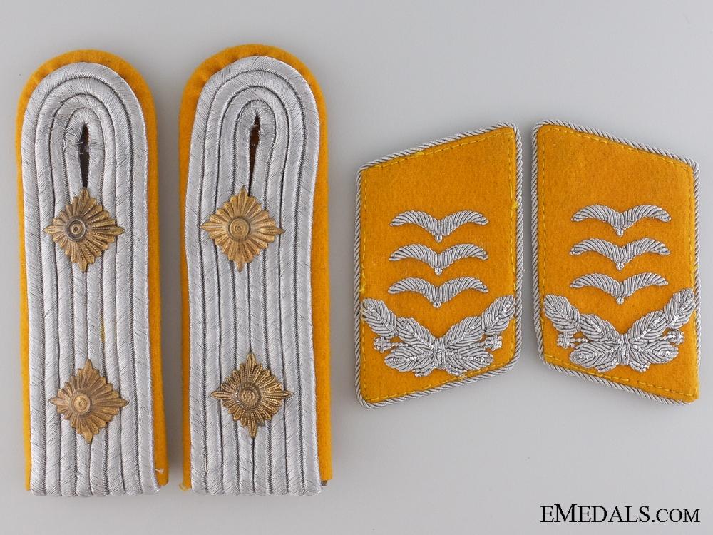 eMedals-Luftwaffe Pilot Captain Shoulder Board and Collar Tab Set