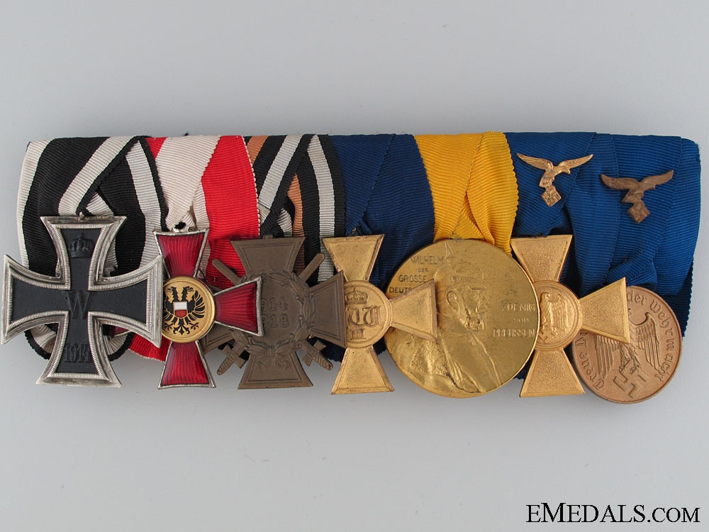 eMedals-Luftwaffe Veteran's Group of Seven