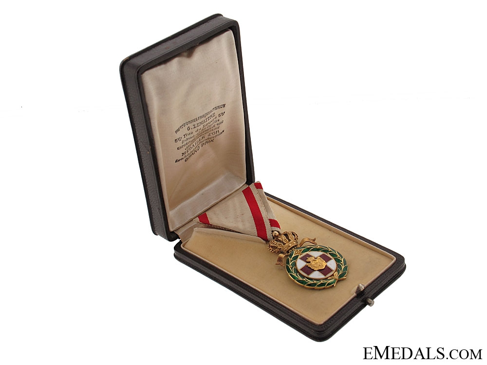 eMedals-Montenegro, Gold Red Cross Order