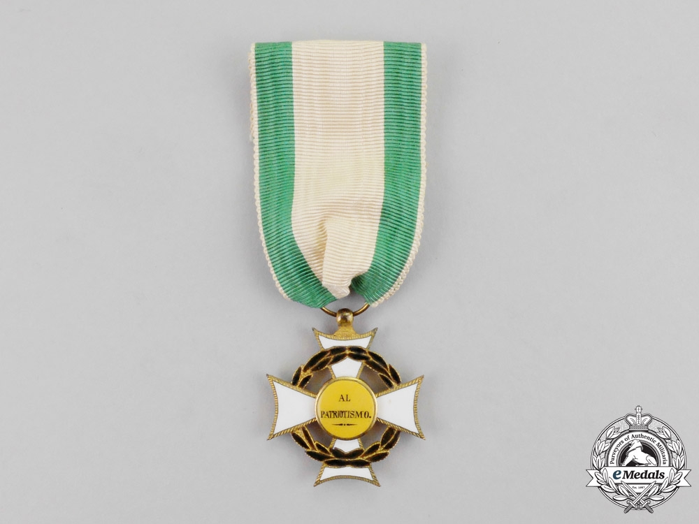 eMedals-Spain, Provincial Regency. A Distinguished Service Cross for the Battle of Cheste, c.1841