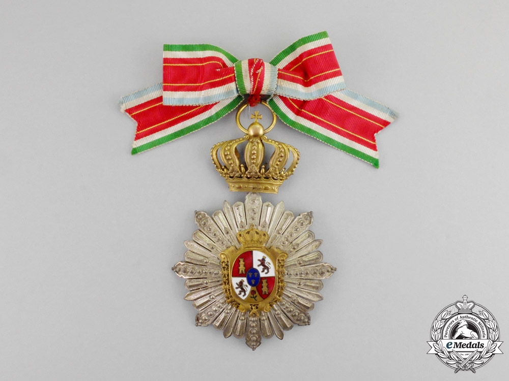 eMedals-Spain. An Unidentified Alfonso XII Women's Order, Breast Badge, c.1900