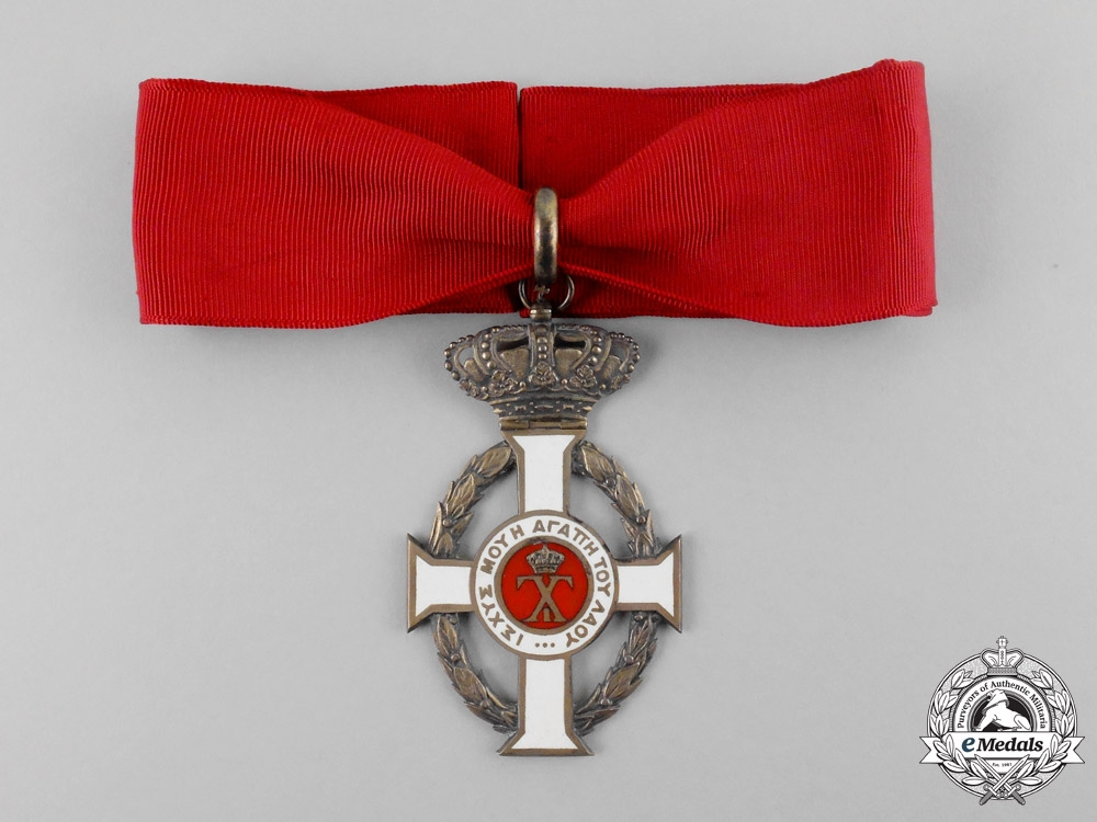 eMedals-Greece. A Royal Order of George I, Grand Officer's Cross, c.1920