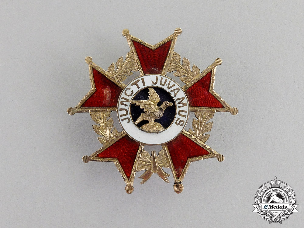 eMedals-United States. A Legion of Honor Membership Badge in Gold, c.1890