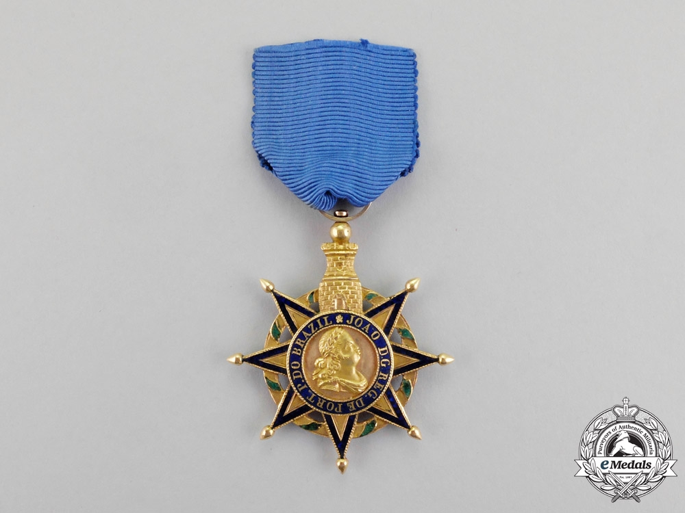 eMedals-Portugal, Kingdom. An Order of the Tower and Sword in Gold, Type I, c.1815