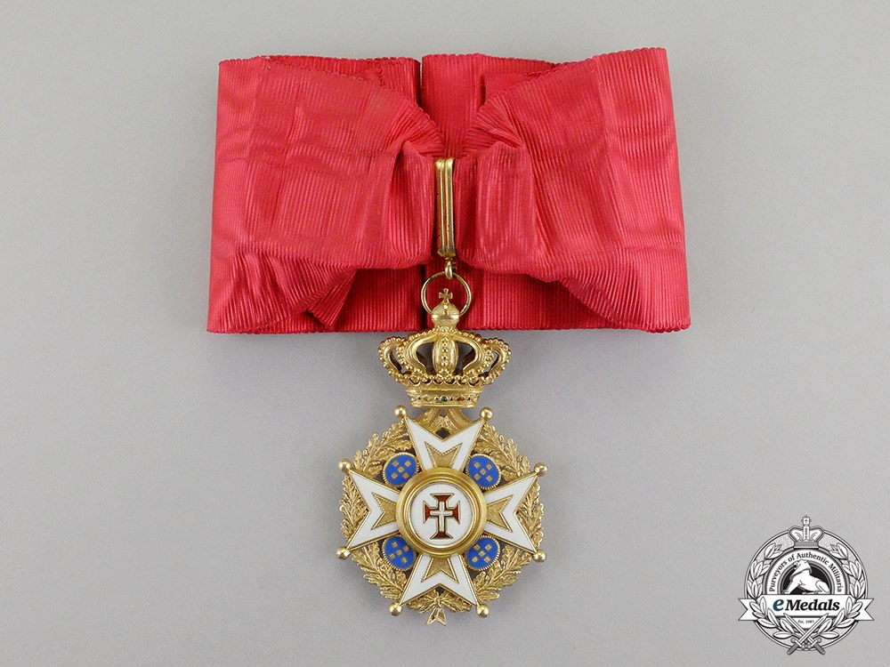 eMedals-Portugal, Kingdom. An Order of the Christ, Military Division, Commander's Cross, c.1900
