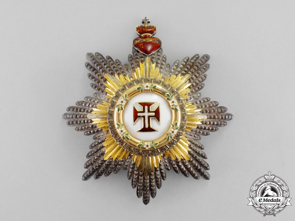 eMedals-Portugal. A Military Order of Christ, 1st Class Grand Cross Star, c.1920