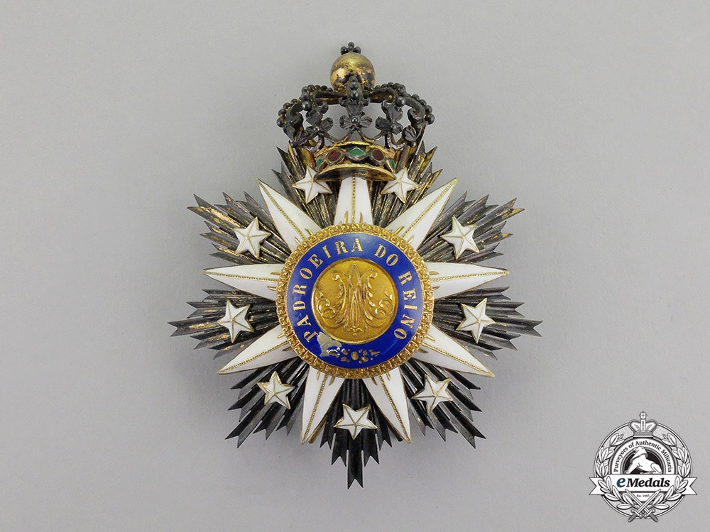 eMedals-Portugal, Kingdom. An Order the Immaculate Conception of  Villa Vicosa, Knight Commander's Star, c.1880