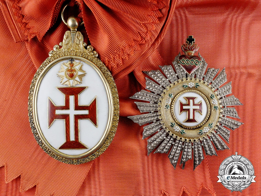 eMedals-Portugal, Kingdom. A Military Order of the Christ, Grand Cross, Type I, c.1900
