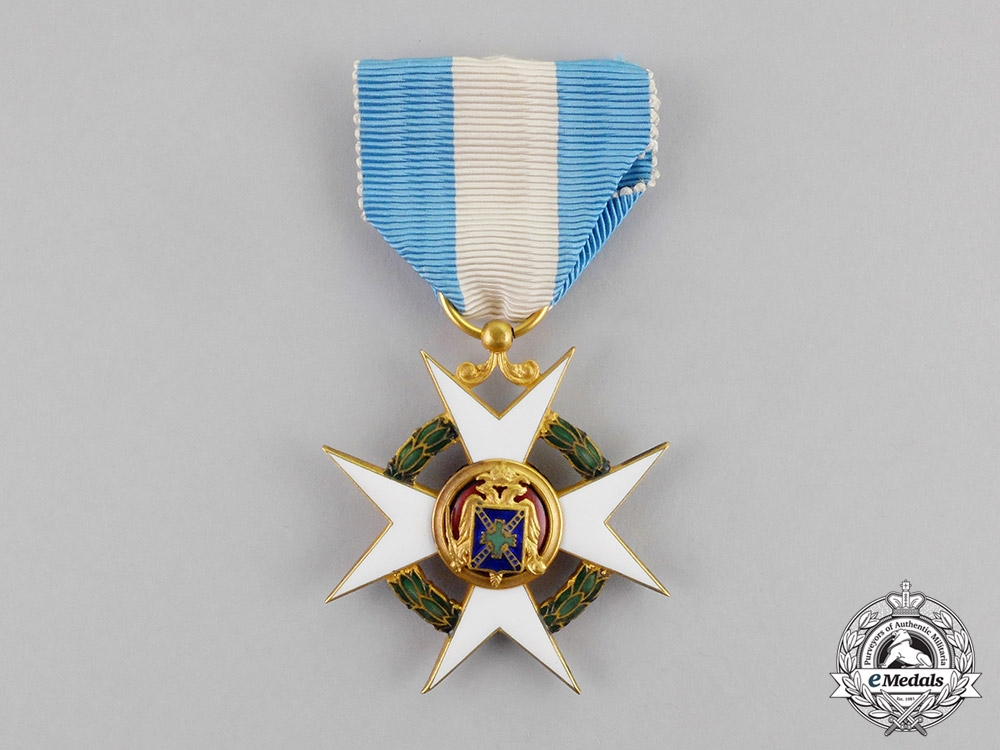 eMedals-International. An Order of Concordia, 1st Class Knight, c.1948