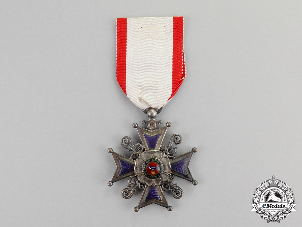 eMedals-Lippe. A Leopold Order Cross, III Class Knight, c.1917