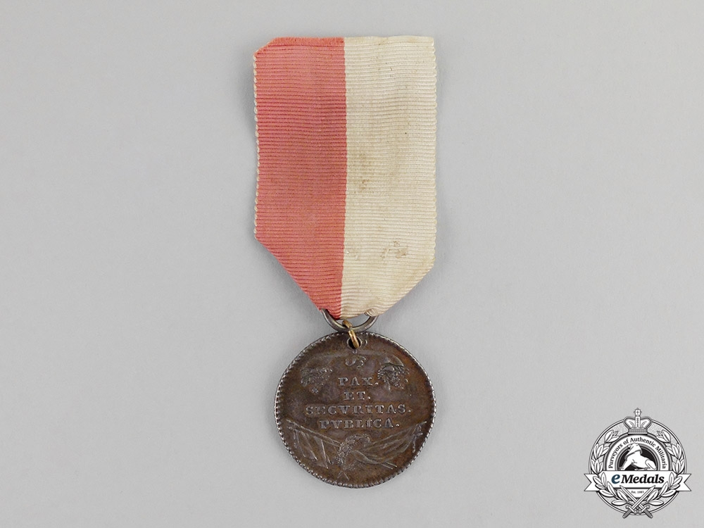 eMedals-Austria, Imperial. A Province of Limburg Volunteer & Meritorious Service Medal, c.1790