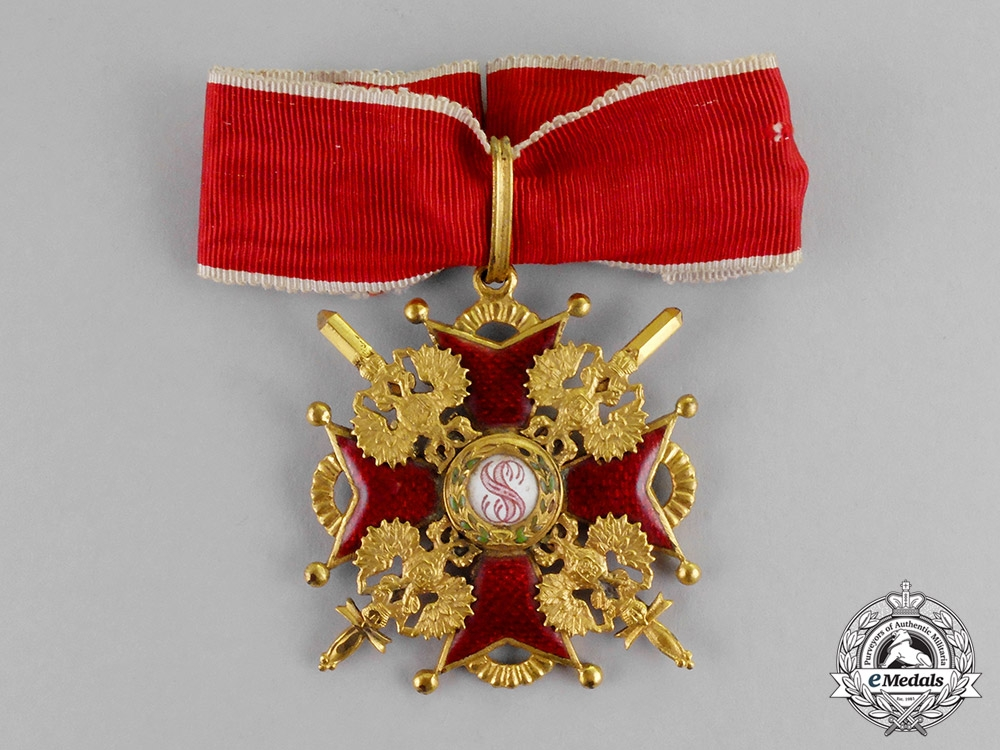eMedals-Russia, Imperial. An Order of St. Stanislaus, Commander, Military Division, c.1917