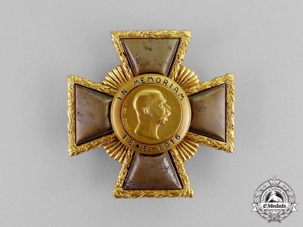 """eMedals-Austria, Imperial. A Franz Josef """"Weiland"""" Cross; First Class, c.1918"""