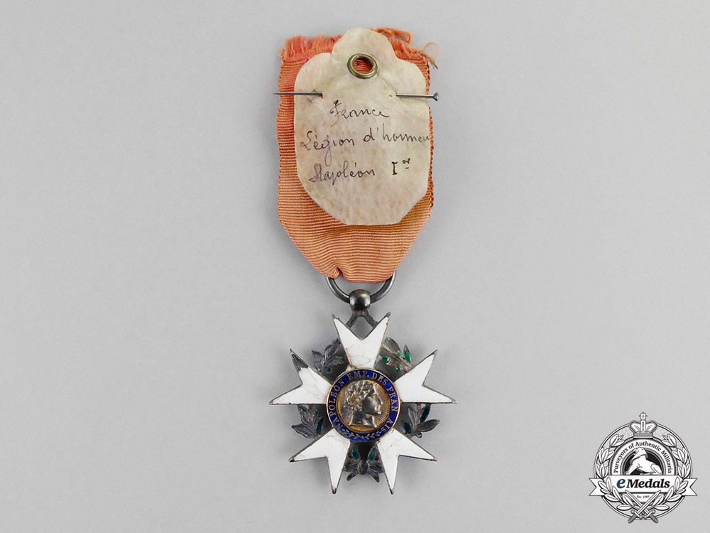 eMedals-France, Napoleonic Kingdom. A Legion D'Honneur, Officer's Cross, Type I, c.1804