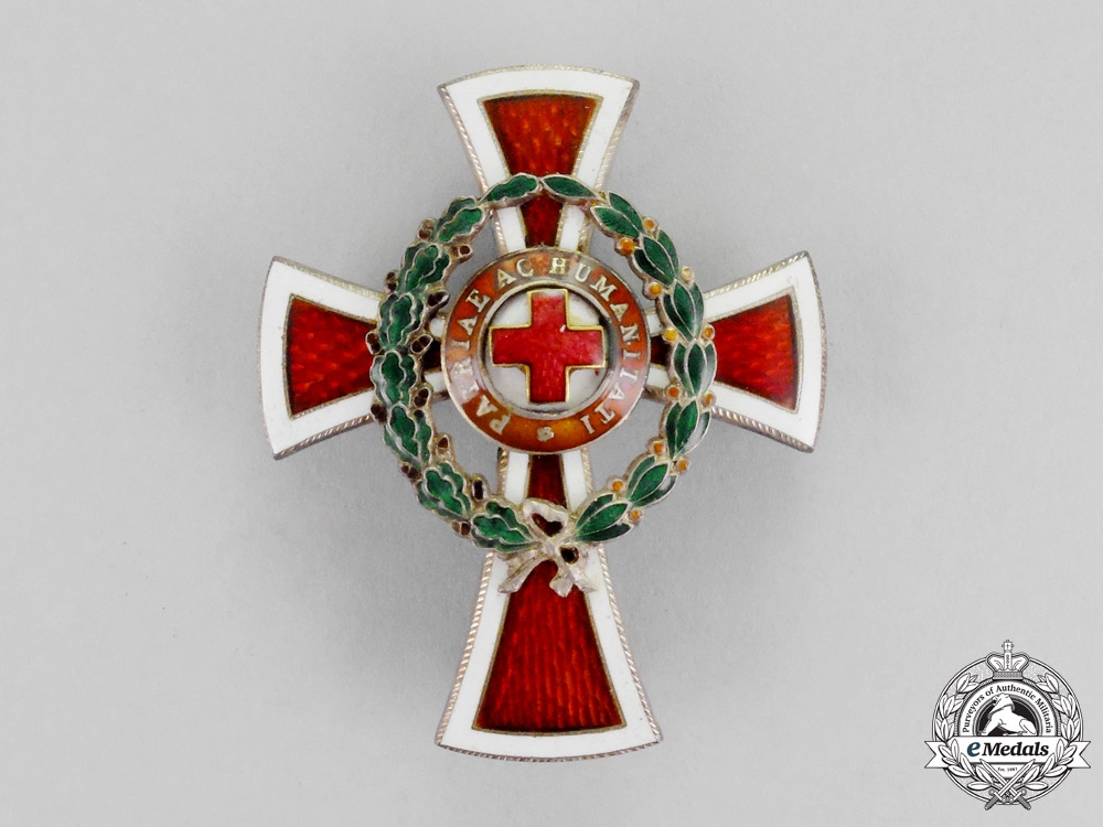 eMedals-Austria, Imperial. A Red Cross Officer's Decoration, First Class, c.1914