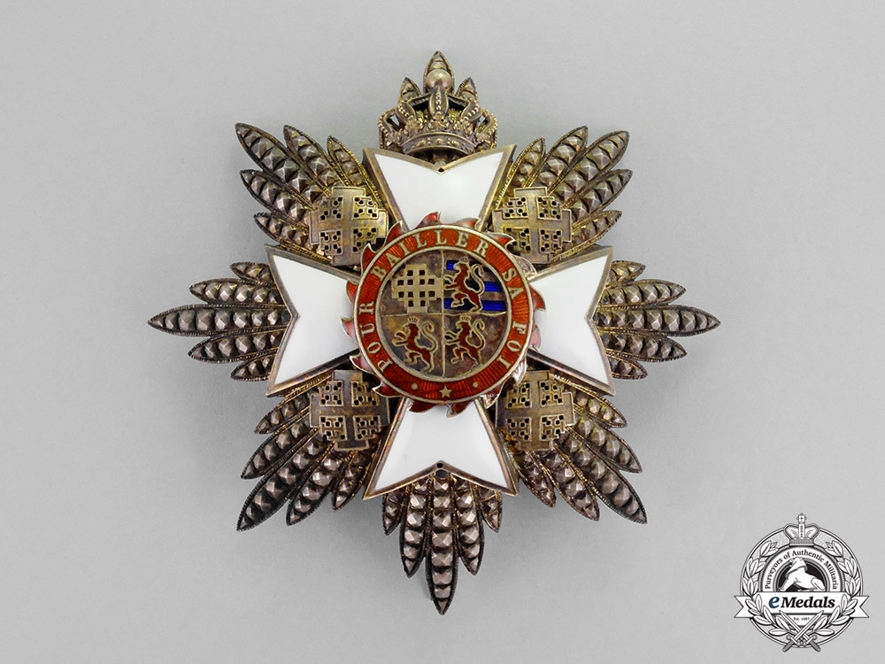 eMedals-International. An Order of Saint Catherine of Mount Sinai, Grand Cross Star, c.1870