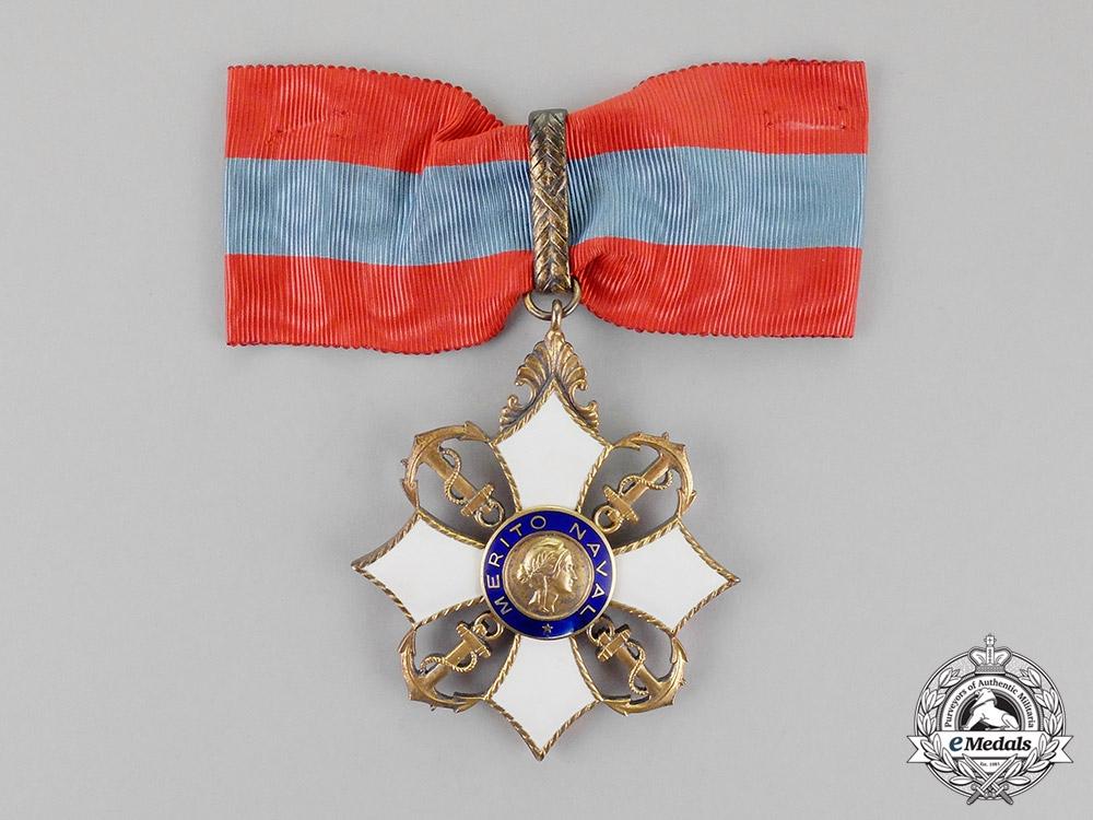 eMedals-Brazil, Republic. An Order of Naval Merit, Commander, c.1940