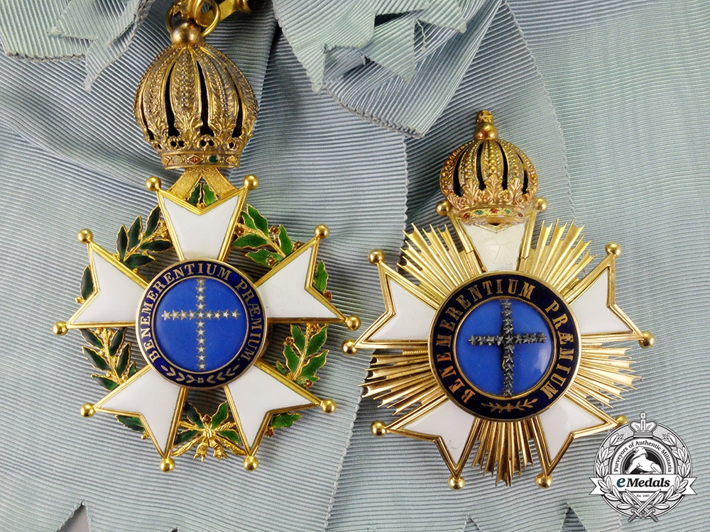 eMedals-Brazil, Kingdom. An Order of the Southern Cross in Gold, Grand Cross, c.1850