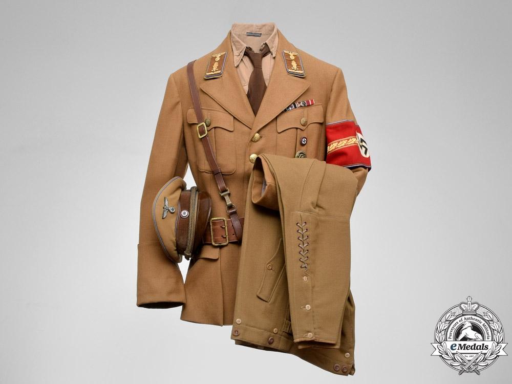 eMedals-Germany. A Decorated Reich/Regional/District Level NSDAP Oberabschnittsleiter Uniform