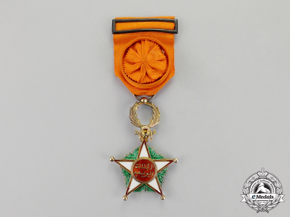 eMedals-Morocco. An Order of Ouissam Alaouite, Officer, 4th Class, c.1925