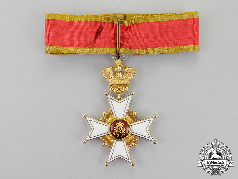 eMedals-Baden. An Order of Berthold the First in Gold, I Class Commander, c.1900