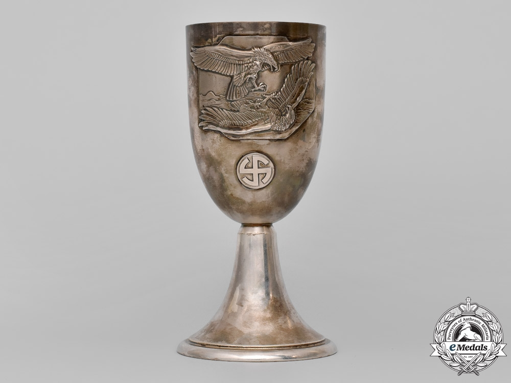 eMedals-Germany. A Possible Prototype of a Luftwaffe Honour Goblet, c. 1935-1936