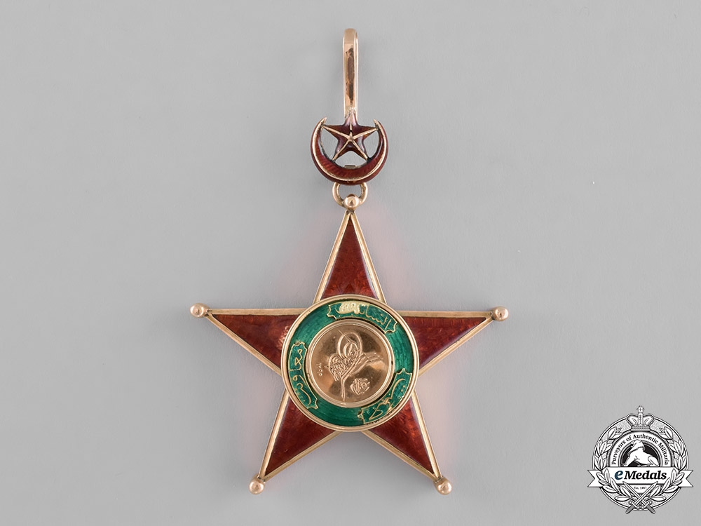 eMedals-Turkey, Ottoman Empire. An Order of Charity, I Class Grand Cross Badge, c.1909