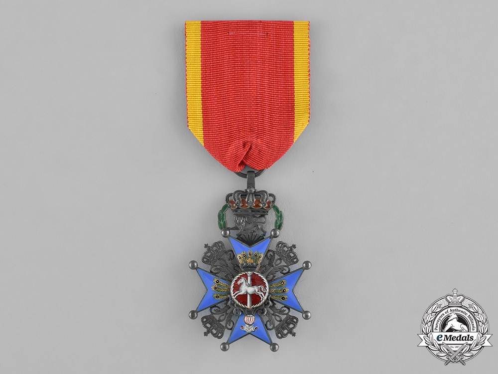 eMedals-Braunschweig, Dukedom. A House Order of Henry the Lion, 2nd Class Knight, c.1910