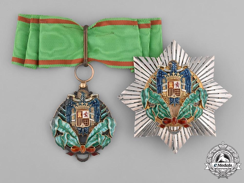 eMedals-Spain, Franco Period. A Civil Order of Africa, Commander, c.1960