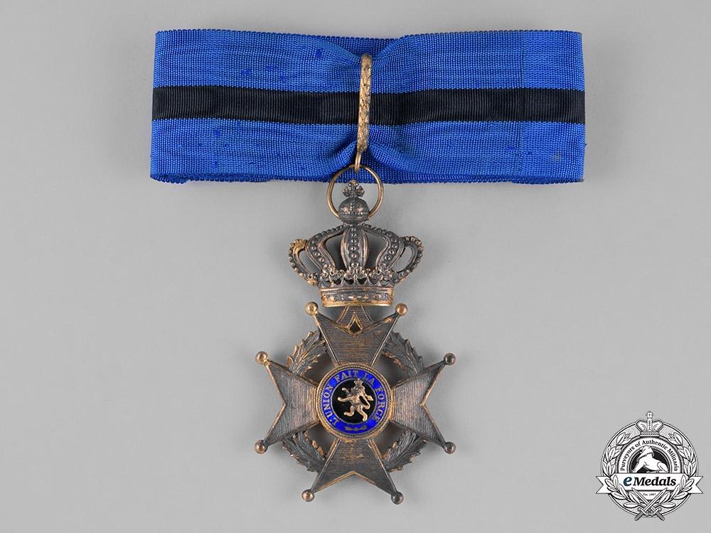 eMedals-Belgium, Kingdom. An Order of Leopold II, Commander's Badge, c.1910